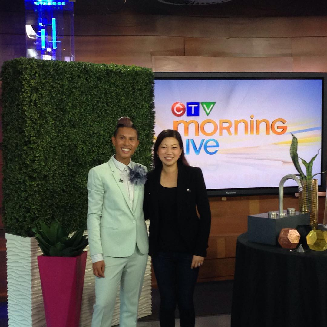 kaluinteriors chatting with Keri on the CTV Morning Show abouthellip