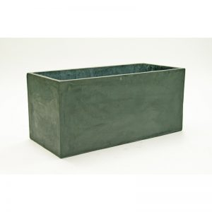 carlisle rectangle fiberclay planter