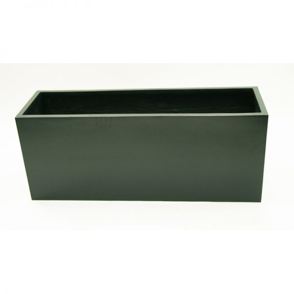 long rectangle fiberglass planter