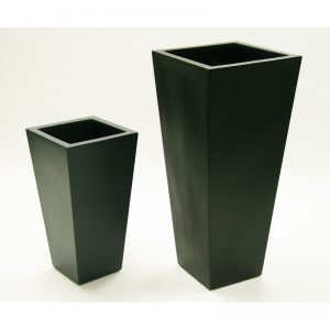 tapered tall FIBERGLASS PLANTER