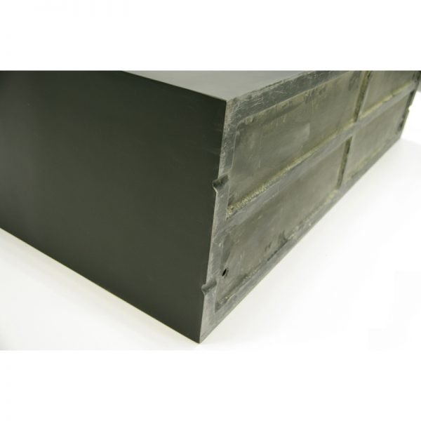 trent rectangle fiberglass planter
