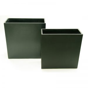 tt tall rectangle fiberglass planter