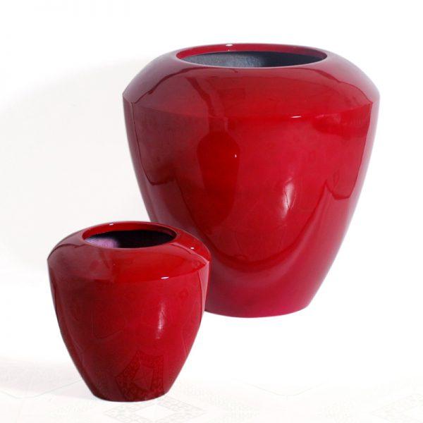 MELA-round-taper---glossy-red