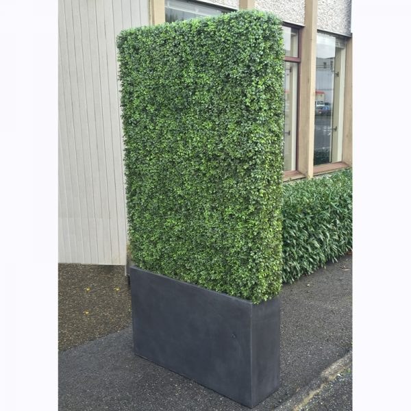 custom sized artificial hedge