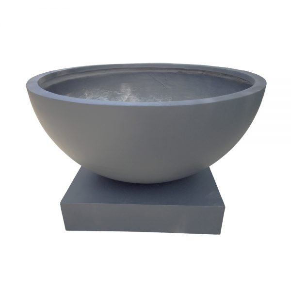 Large Bowl with Pedestal