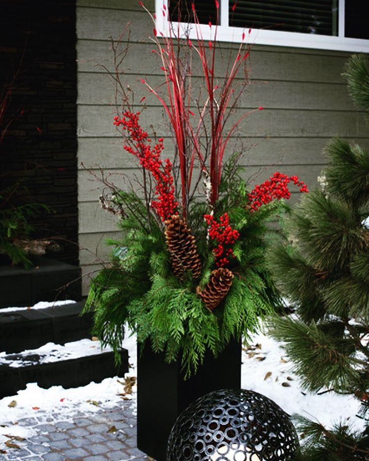 Continuing with our holiday theme this planter is stunning withhellip