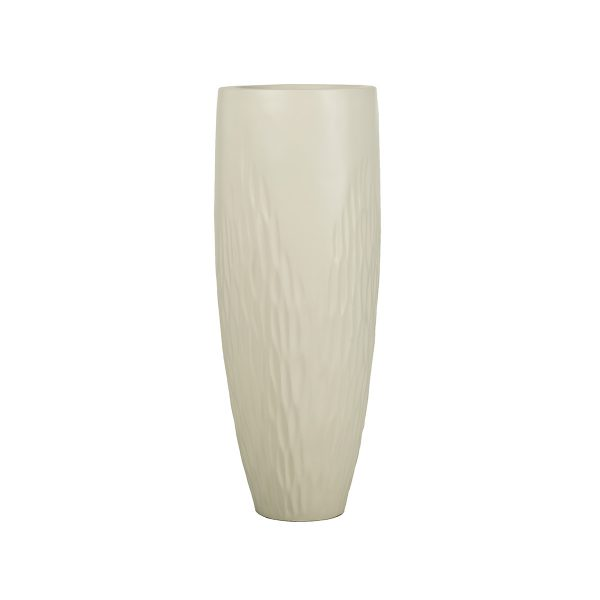 Marine Grade Fiberglass Tall Planter. Durable. Winterproof.
