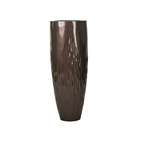 Mirage-Leaf-Vase-Dark-Bronze-Sized