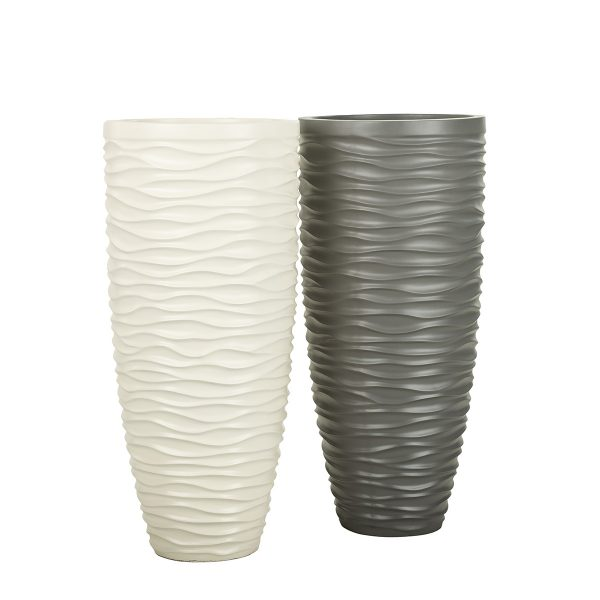 Mirage-Mallo-Vase-Cream-White-Charcoal-Grey-Sized