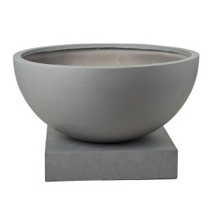 Polyfiber-Low-Bowl-Stand-Grey-Sized
